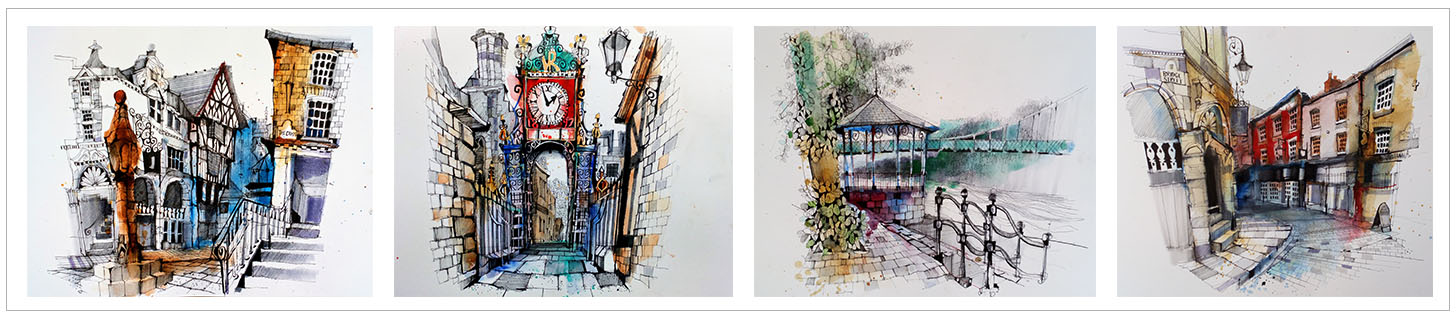 ian fennelly urban sketch artwork