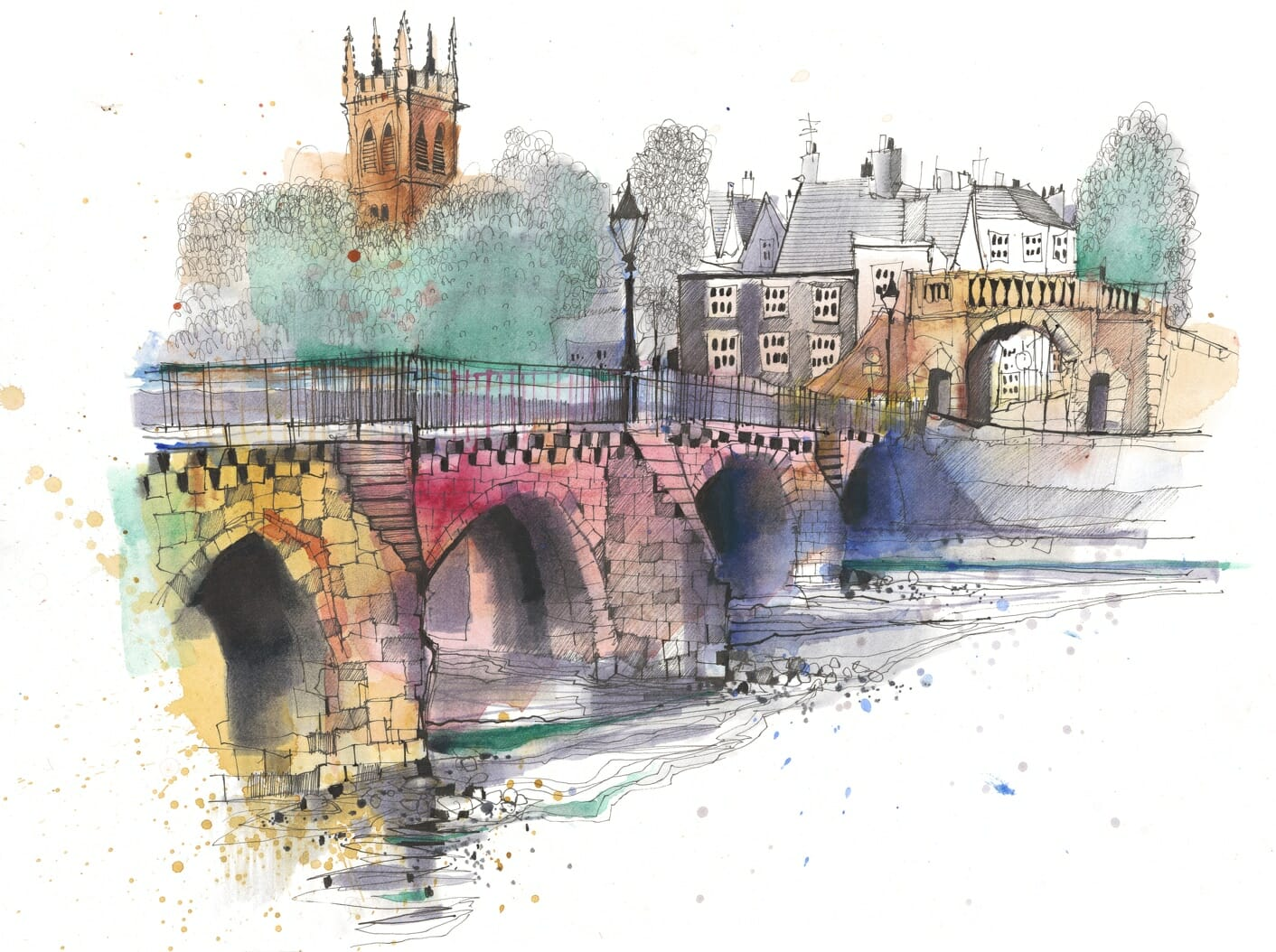 Chester Bridge by Ian Fennelly
