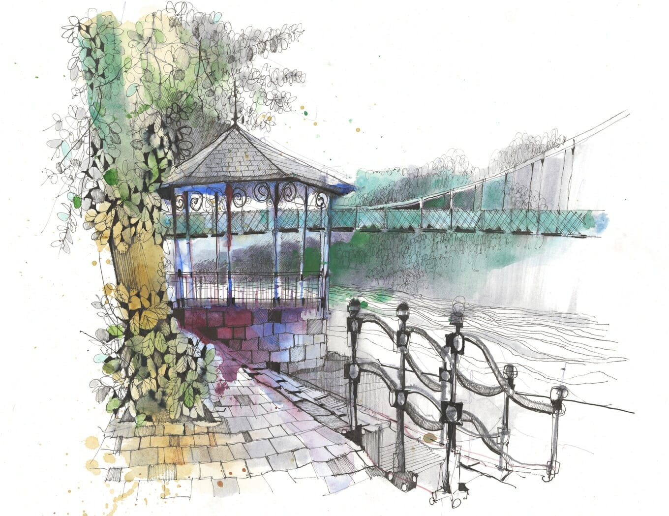 Chester Bandstand by Ian Fennelly