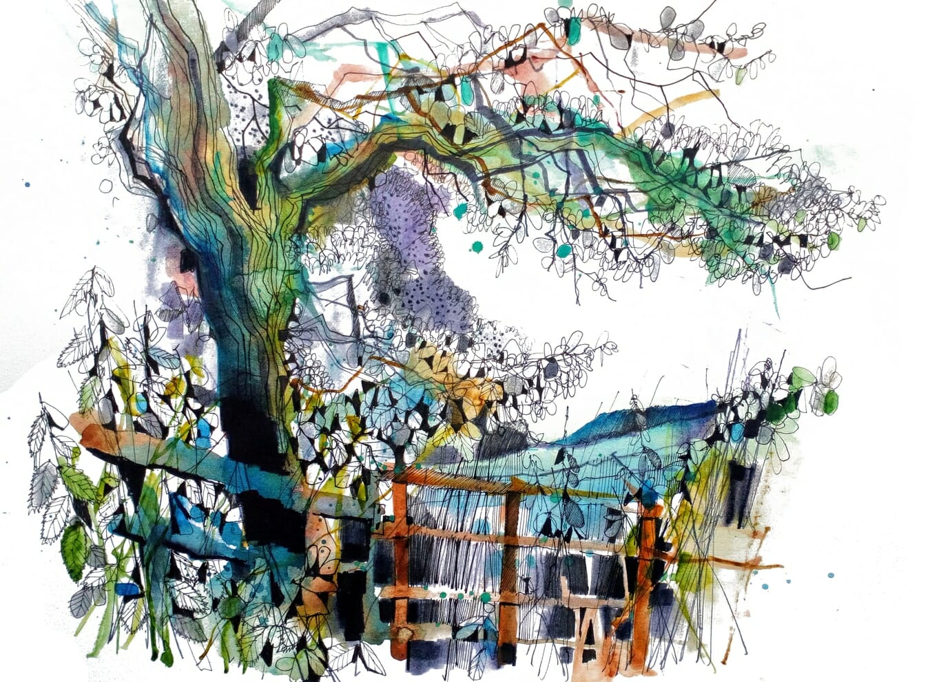 Broxton Garden by Ian Fennelly