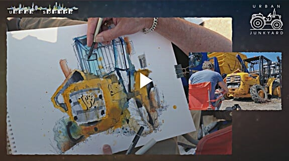 urban sketching course by ian fennelly