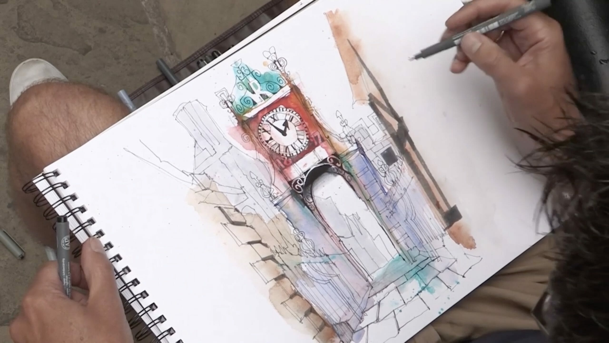 art painting sketching pens pencil fine liner urban sketching kit what do i need sketch