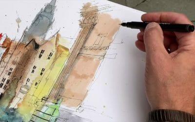 Understanding Ian Fennelly's Sketching Approach
