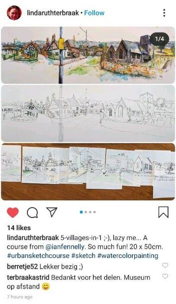 urban sketching ian fennelly