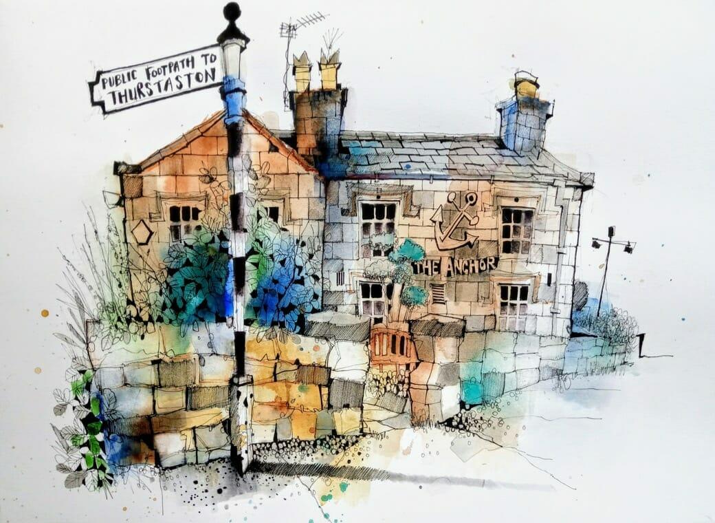 ian fennelly urban sketching pubs