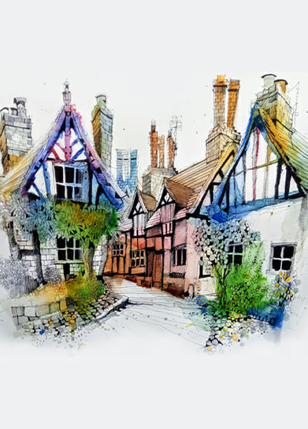 Ian Fennelly chester cheshire sketchers usk