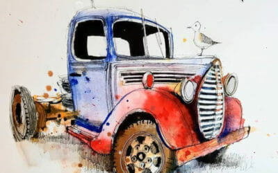 Free Demonstration Truck Sketch with Ian Fennelly