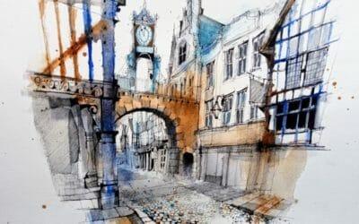Sketch an Historic English City Workshop