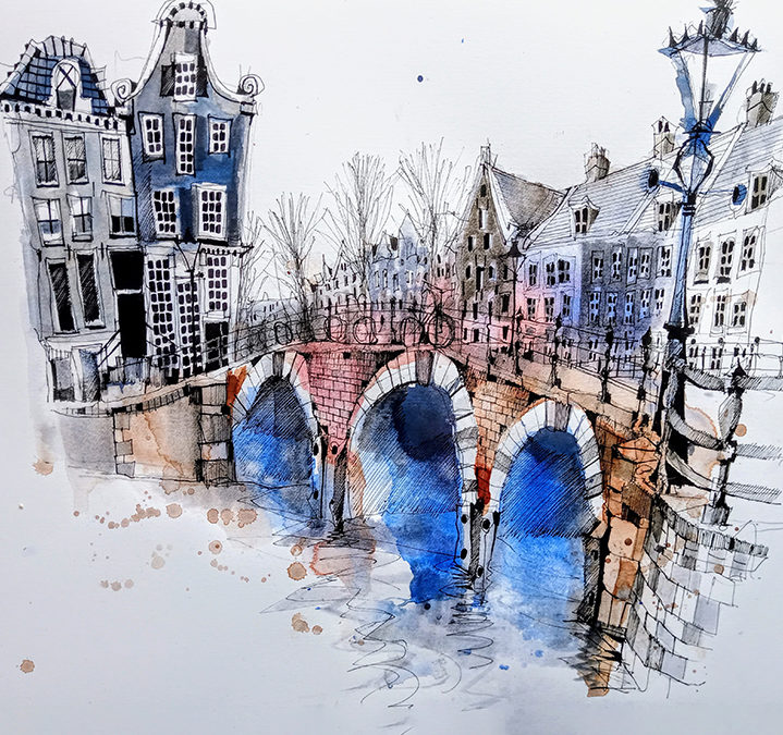 Virtual World Sketching Tour