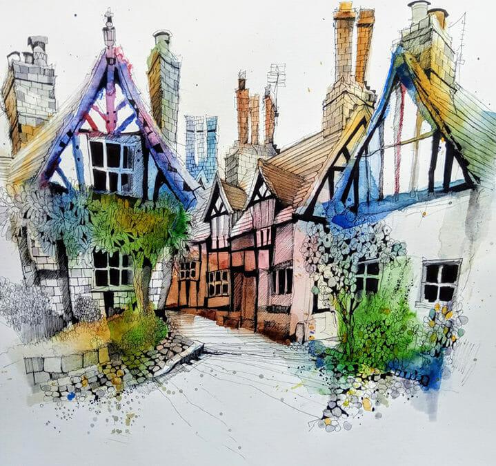 Sketching 5 Villages